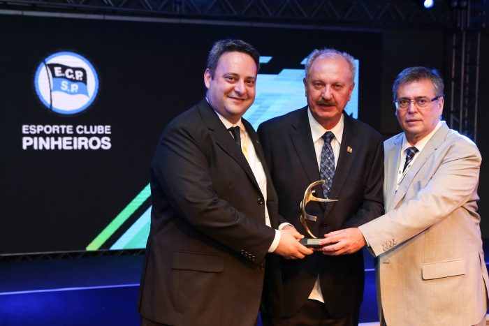 Prêmio FENACLUBES - Clube Esportivo - Esporte Clube Pinheiros (SP)