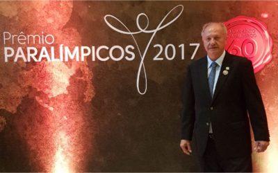 Presidente da FENACLUBES participa do PRÊMIO PARALÍMPICOS 2017