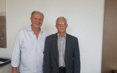 Presidente da Confederação de Esgrima visita a FENACLUBES
