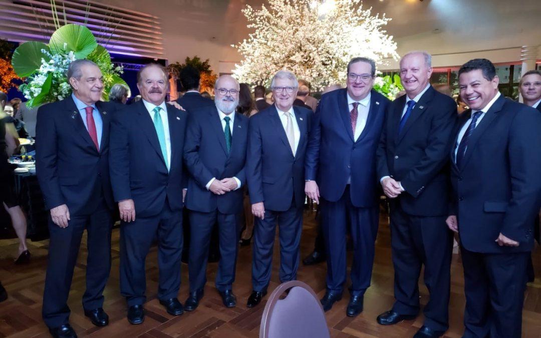 FENACLUBES presente na posse da nova diretoria do Paulistano