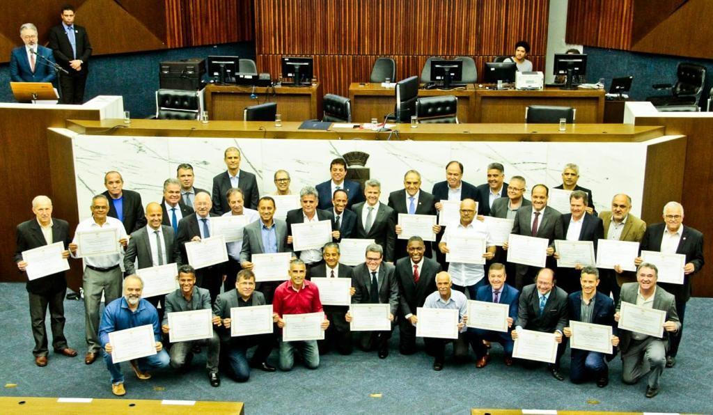 FECEMG e Clubes mineiros são homenageados pela Câmara de Belo Horizonte