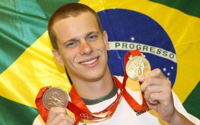 Maior nadador da história do Brasil é o novo palestrante da 1ª Semana Nacional dos Clubes
