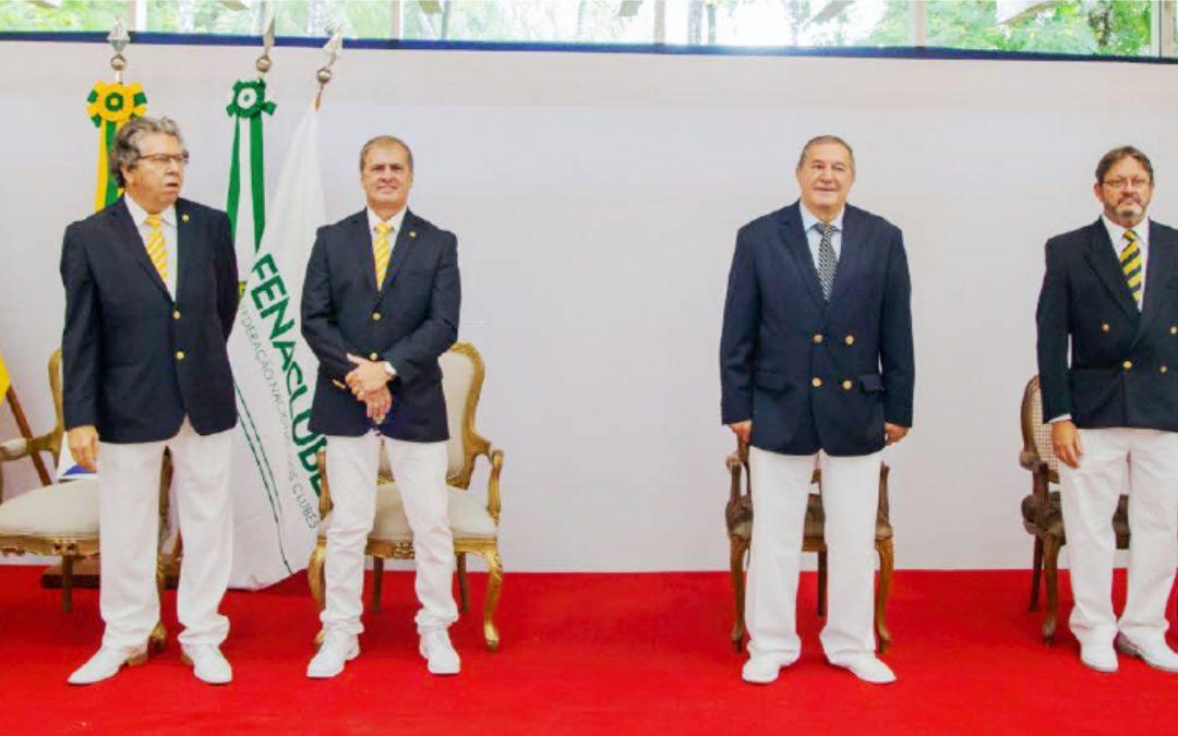 Iate de Brasília destaca união com a FENACLUBES durante cerimônia de posse da nova diretoria