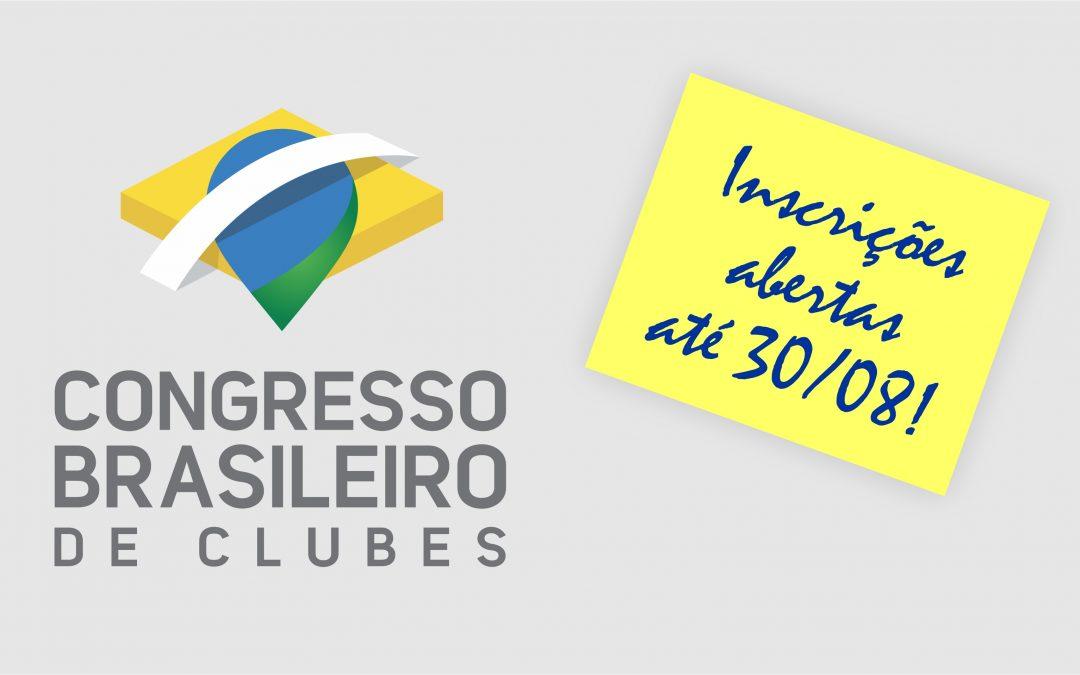 Inscrições da 1ª Semana dos Clubes se encerram em pouco mais de 1 mês