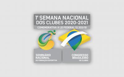 Em clima olímpico, FENACLUBES divulga palestrantes da 1ª Semana dos Clubes
