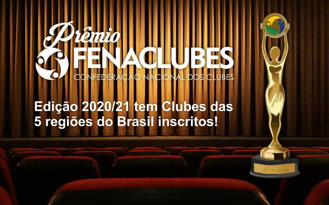 Prêmio FENACLUBES recebe 65 inscrições