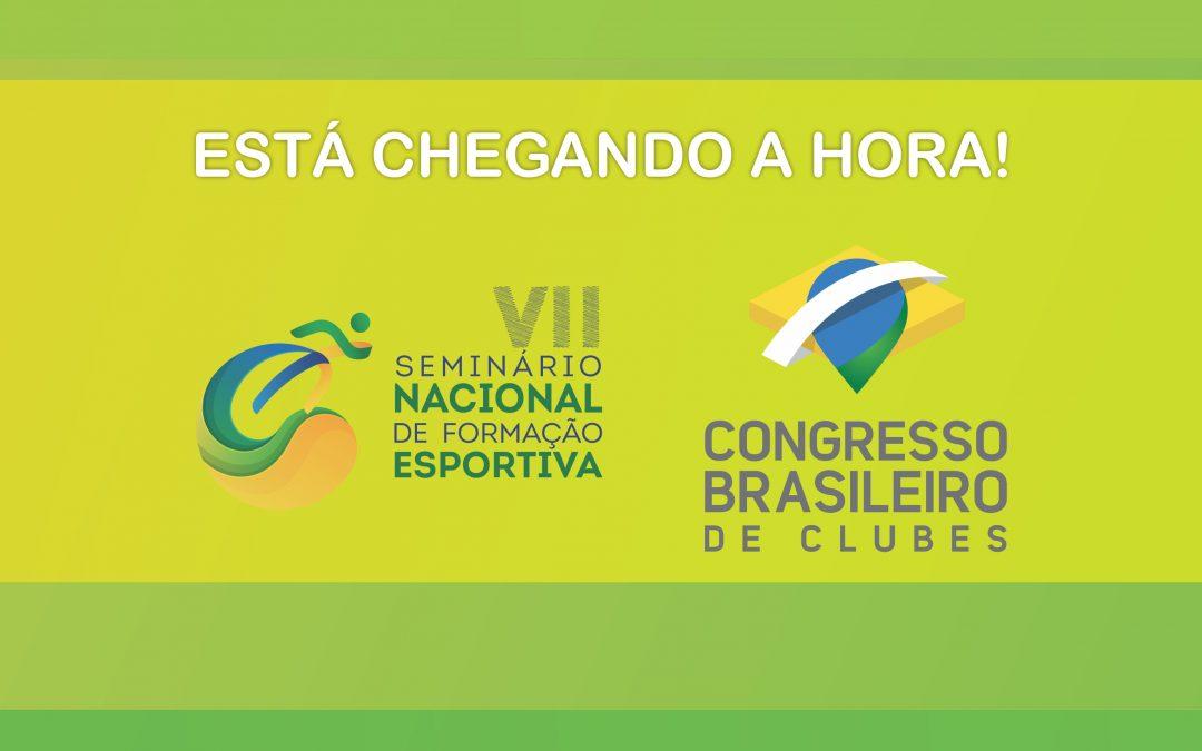 Últimas atualizações para os participantes da 1ª Semana Nacional dos Clubes!